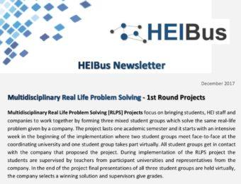 Second HEIBus Newsletter
