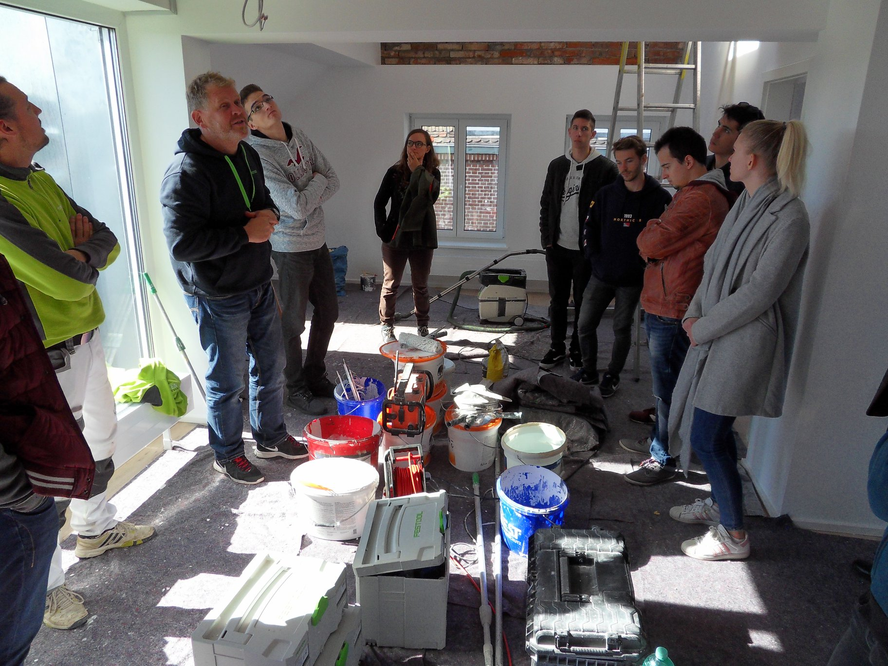 Festool RLPS Project – Intensive week