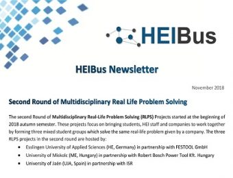 Fourth HEIBus Newsletter