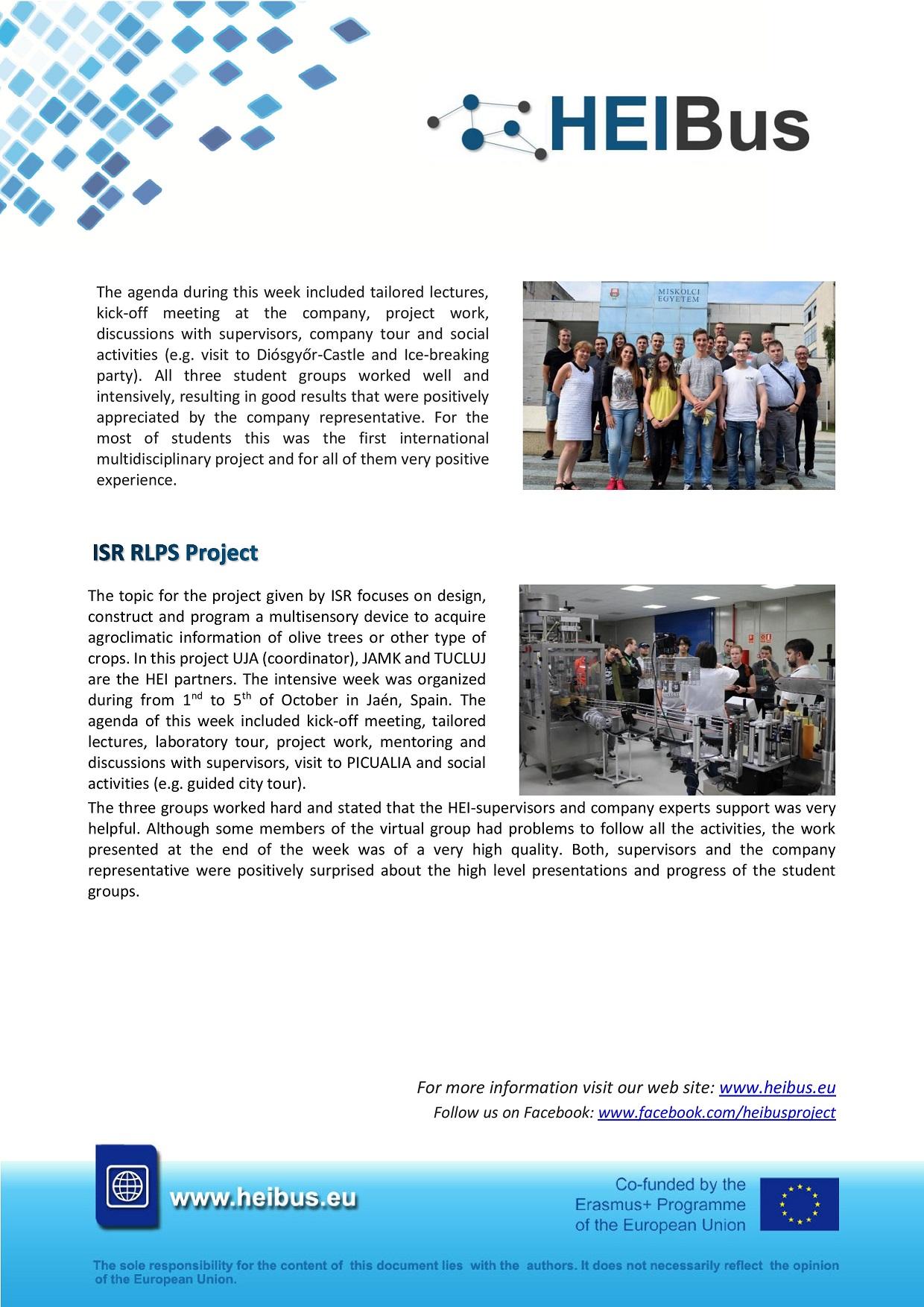 HEIBus Newsletter 4